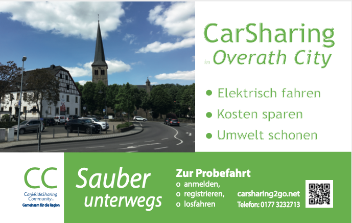 Carsharing in Overath