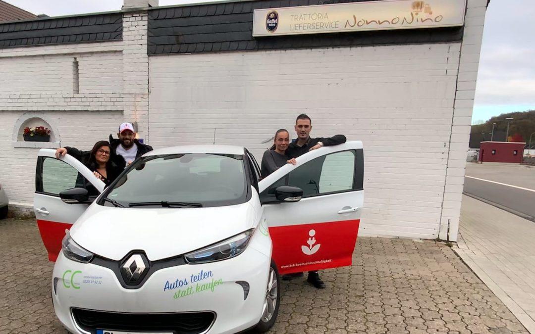 CarSharing-Initiative für Overather Einzelhandel und Restaurants