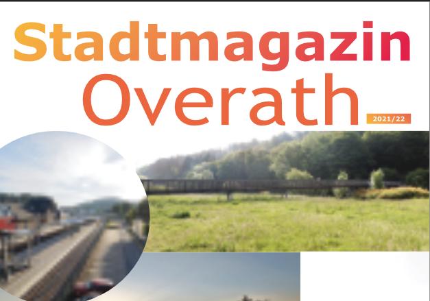 Stadtmagazin Overath – Erstausgabe zum Stadtfest veröffentlicht